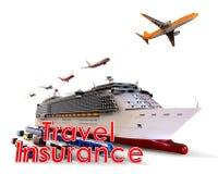 Concetto di sicurezza di viaggio Immagine Stock Libera da Diritti