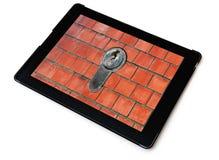 Concetto di sicurezza informatica Fotografia Stock Libera da Diritti