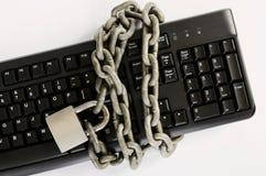 Concetto di sicurezza informatica Immagini Stock