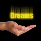 Concetto di sogni immagine stock libera da diritti