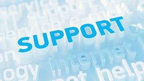 Concetto di sostegno Immagini Stock Libere da Diritti
