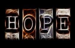 Concetto di speranza Fotografie Stock Libere da Diritti