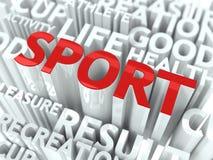 Concetto di sport. illustrazione di stock