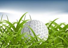 Concetto di sport di golf Fotografia Stock