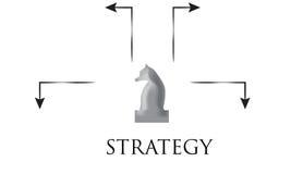 Concetto di strategia Fotografie Stock