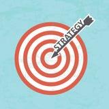 Concetto di strategia aziendale Immagine Stock Libera da Diritti
