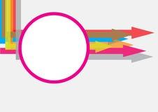 Concetto di struttura della freccia Immagine Stock