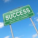 Concetto di successo. Fotografia Stock Libera da Diritti