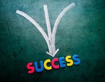 Concetto di successo immagini stock libere da diritti