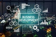Concetto di sviluppo di affari immagini stock libere da diritti
