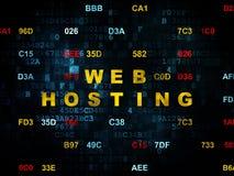 Concetto di sviluppo Web: Web hosting su Digital Fotografia Stock