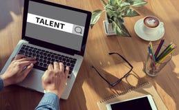 concetto di talento immagine stock