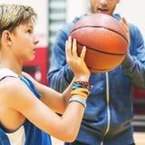 Concetto di Team Athlete Basketball Bounce Sport della vettura Fotografie Stock