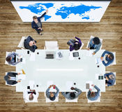 Concetto di Team Collaboration Business People Unity di lavoro di squadra Fotografia Stock Libera da Diritti