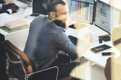 Concetto di Team Discussion Meeting Corporate Success di affari Immagini Stock