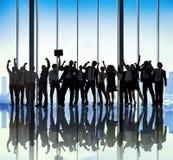Concetto di Team Teamwork Togetherness Business Coworker di successo Immagine Stock