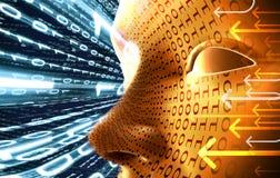 Concetto di tecnologia Immagine Stock