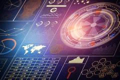 Concetto di tecnologia, dell'innovazione e di finanza illustrazione vettoriale