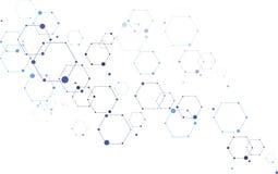 Concetto di tecnologia della formica di scienza di vettore Immagini Stock