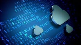 Concetto di tecnologia della nuvola illustrazione vettoriale