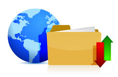 Concetto di tecnologia di mezzi d'informazione e di Internet Fotografia Stock Libera da Diritti