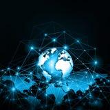 Concetto di tecnologia di produzione di Internet e della televisione Immagini Stock