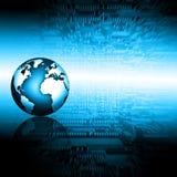 Concetto di tecnologia di produzione di Internet e della televisione Immagine Stock