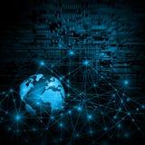 Concetto di tecnologia di produzione di Internet e della televisione Fotografia Stock Libera da Diritti