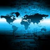 Concetto di tecnologia di produzione di Internet e della televisione Fotografia Stock