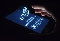 Concetto di tecnologia di Internet di affari dell'innovazione di modernizzazione di trasformazione fotografia stock libera da diritti