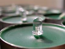 Concetto di tecnologia verde LED Fotografie Stock Libere da Diritti