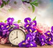 Concetto di tempo di primavera fotografia stock