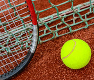 Concetto di tennis Fotografia Stock Libera da Diritti