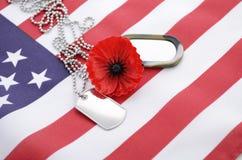 Concetto di U.S.A. Memorial Day fotografia stock libera da diritti