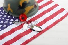Concetto di U.S.A. Memorial Day Immagini Stock Libere da Diritti