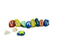 Concetto di vacanza immagini stock libere da diritti