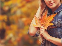 Concetto di vacanza di autunno immagini stock