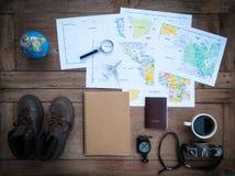 Concetto di vacanza di pianificazione immagine stock