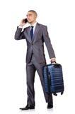 Concetto di vacanza di viaggio con bagagli Immagini Stock