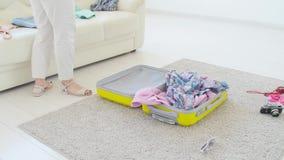 Concetto di vacanza e di viaggio E video d archivio