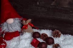 Concetto di vacanza invernale di natale di Natale Fotografia Stock Libera da Diritti