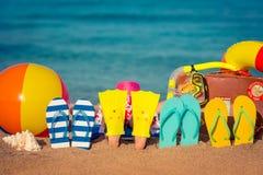 Concetto di vacanze estive fotografia stock