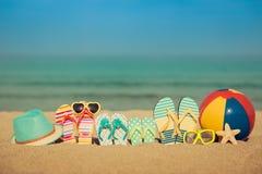 Concetto di vacanze estive immagini stock libere da diritti