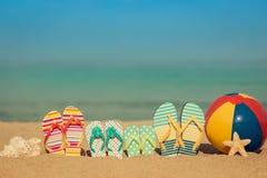Concetto di vacanze estive fotografia stock libera da diritti