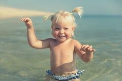 Concetto di vacanze estive Fotografie Stock Libere da Diritti