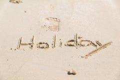 Concetto di vacanze estive che si immerge sulla spiaggia Fotografie Stock Libere da Diritti