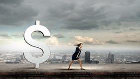 Concetto di valuta Immagine Stock