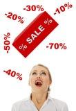Concetto di vendita Immagini Stock Libere da Diritti