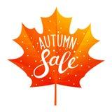 Concetto di vendita di autunno illustrazione di stock