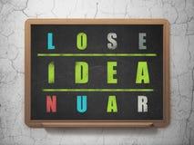 Concetto di vendita: idea di parola nella soluzione delle parole incrociate Immagini Stock